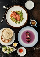 White restaurant chinaware for Asian style food